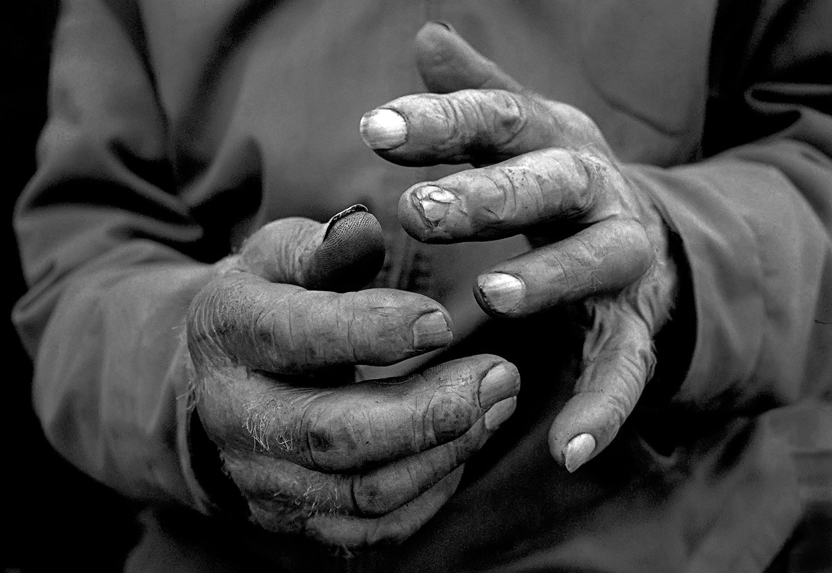 Farmer hands | Fargo photographer Dan Koeck