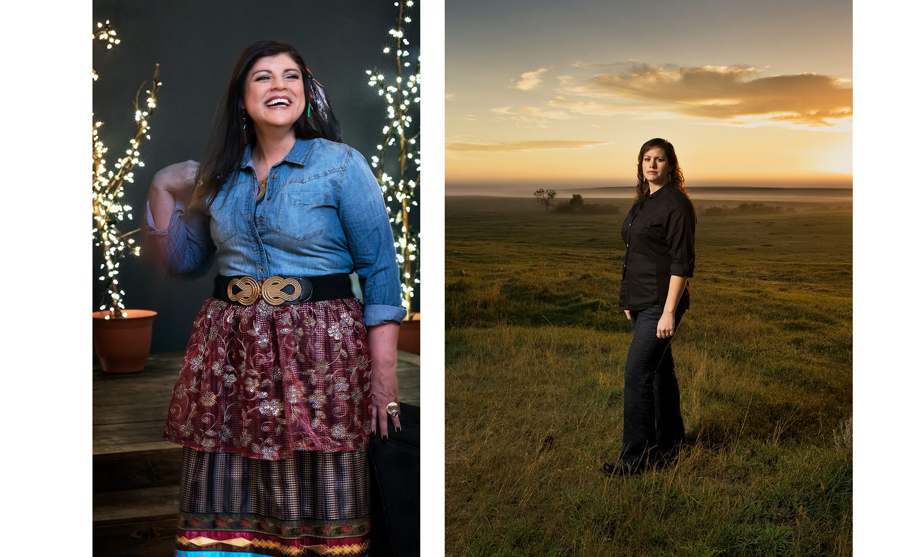 North Dakota photographer Dan Koeck | Portraits of Native American Women