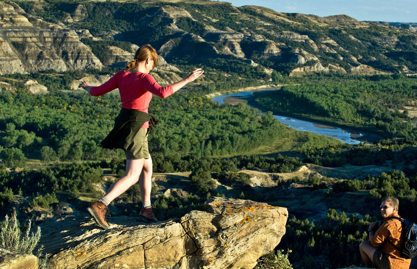 Photo of Theodore Roosevelt National Park by North Dakota photographer Dan Koeck