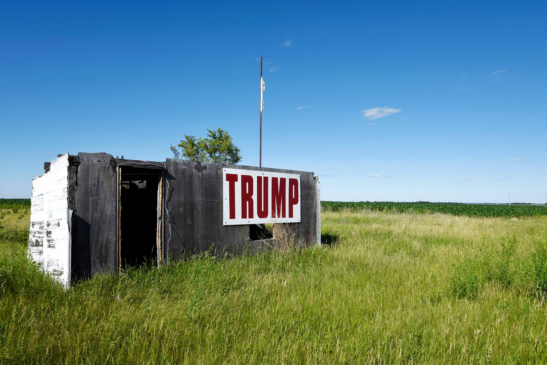 A photo of rural North Dakota taken by Fargo, North Dakota photojournalist Dan Koeck