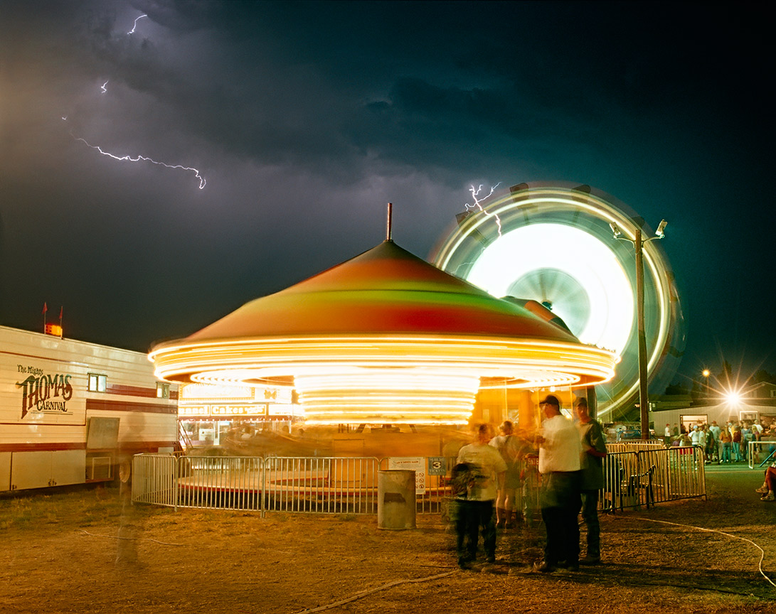A photo of a North Dakota county fair taken by North Dakota photographer Dan Koeck